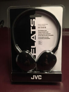 JVC Flats Headphones