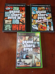 Xbox - Grand Theft Auto triple pack!
