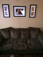 Couch,love seat and chair $500