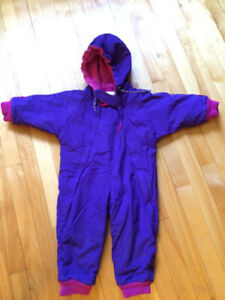 Purple Snowsuit (Size 2T)