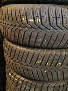 4x pneus hiver 185/65R15 vredestein snowtrac3  Saint-Hyacinthe Québec image 3