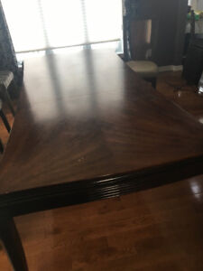 Dining room table & 6 chairs for sale!