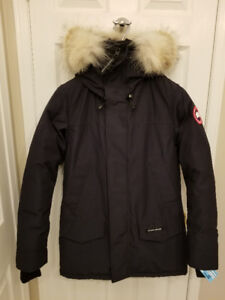 New Canada Goose Langford Parka - Fusion Fit Small  Admiral Blue
