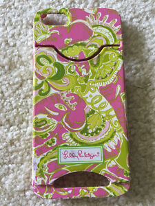 iPhone 5/5s Lilly Pulitzer phone case with card slot