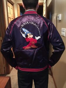 Mickey Mouse Sorcerer's Apprentice Satin Jacket