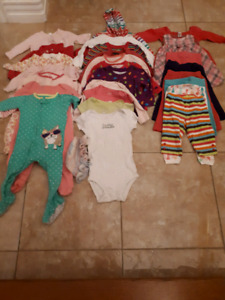 6-12 month baby girl lot.