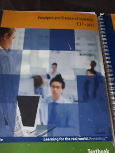 Insurance College Textbooks-EXCELLENT OPPORTUNITY $495 OBO
