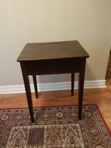 Old School Desk - Sturdy and Solid Wood