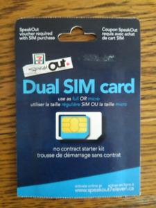 Speakout 7-11 Dual SIM (regular & micro)