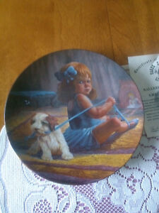 10 collector plates various artists 2.00 each London Ontario image 4