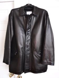 Guy Laroche Leather Jacket