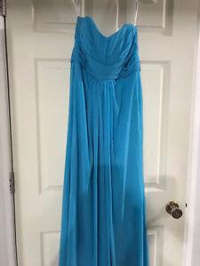 David's Bridal maxi dress