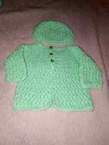 Crocheted unisex baby sets London Ontario image 2
