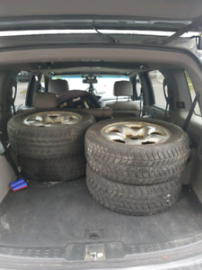 Cheap winter tires and rims ( SOLD)