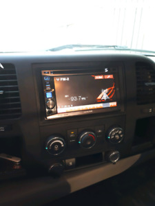 Alpine double din touchscreen deck