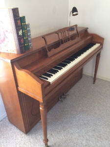 Henry F. Miller, Rock Maple Upright Piano