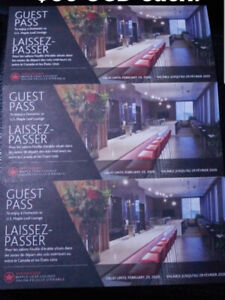 Air Canada Maple Leaf Lounge Guest Pass / Passes Retail 65 USD