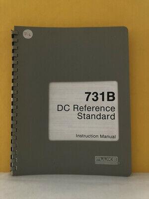 Fluke 405050 731b Dc Reference Standard Instruction Manual