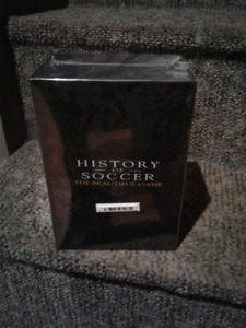 HISTORY OF SOCCER - THE BEAUTIFUL GAME, 6 DVD Box set, brand new