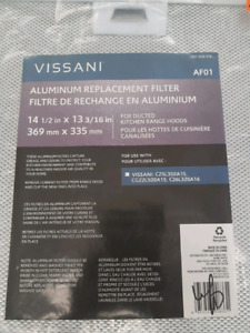 VISSANI RANGE HOOD REPLACEMENT FILTERS
