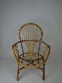 1970's Rattan chair