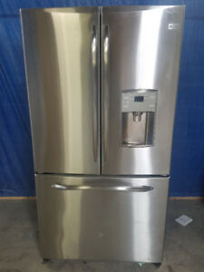 GE 25.1 Cu. Ft. Stainless French Door Refrigerator Counter Depth