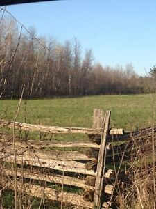 1.43 acre building lot Lombardy,ON