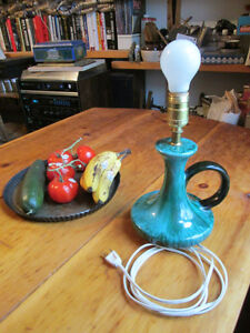 Blue Mountain Pottery table lamp