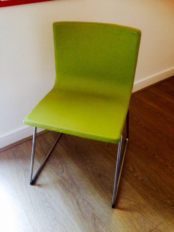 Lime Green Dining Chair Ikea Bernhard 163 35 In Hove