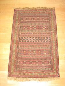Kilim – Uzbek Afghan Flatweave – Hand Woven – Tribal Carpet