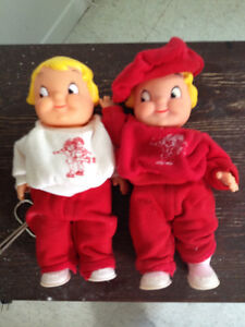 Pair of Vintage Dolls