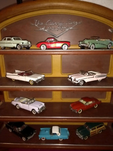 Set of franklin mint classic model cars !!