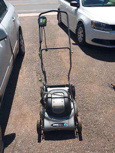 Earthwise 12amp electric lawnmower