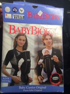 Baby Bjorn Baby Carrier Original in box - 8-25 pounds
