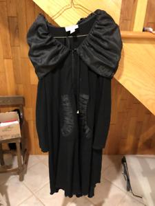 Robe noire longue femme