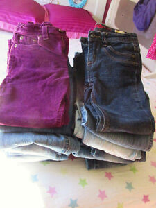 18 PAIRS OF SIZE 6-6X JEANS BRAND NEW CONDITION!!!!!