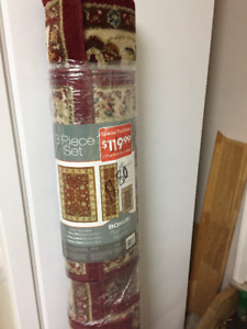 Windsor 3 piece Set Carpet - New still in Rolled Pack