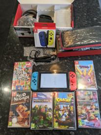 Huge Nintendo Switch Bundle many many extras