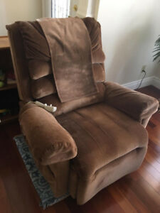 Power Assisted Lift Recliner