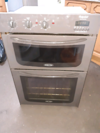 Oven hotpoint integrated double electric good condition