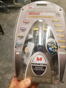 Monster Cable ultra 1000 HDMI new in box