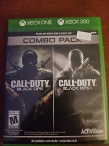 Call of duty black ops 1&2
