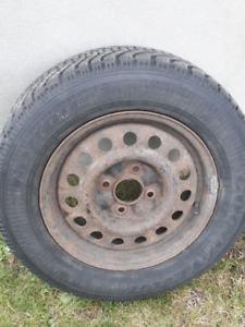 pneus avec jantes