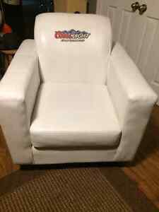 Coors Light Leather Chair