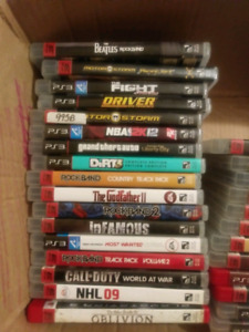 Ps3 games for sale many titles $5 each or trade for ds games