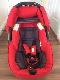 Jane Matrix Cup Lie-Flat Infant Car Seat with user manual