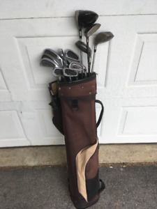 Golf Clubs (Full Set, Right Handed, TaylorMade Driver)