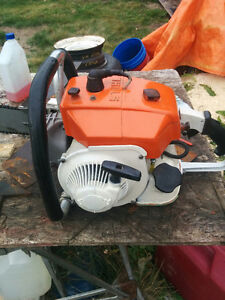 """090 Sthil chainsaw with 34"""" bar $1250 OBO"""