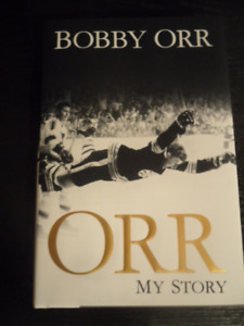 BOBBY ORR     MY STORY   AUTOBIOGRAPHY   AUTOGRAPHED