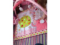 Baby girl play mat excellent condition